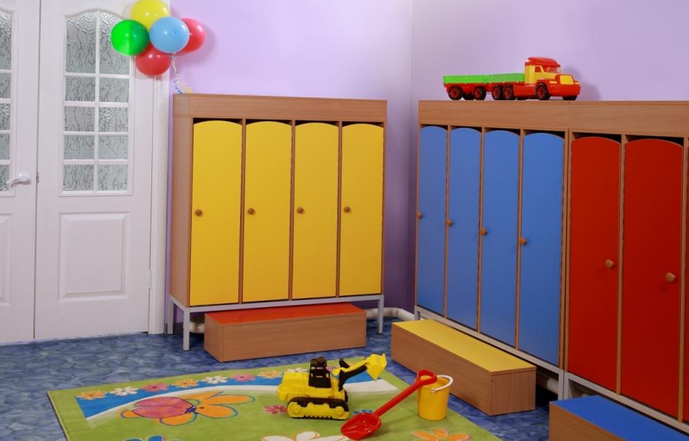 Шкафы  детского сада