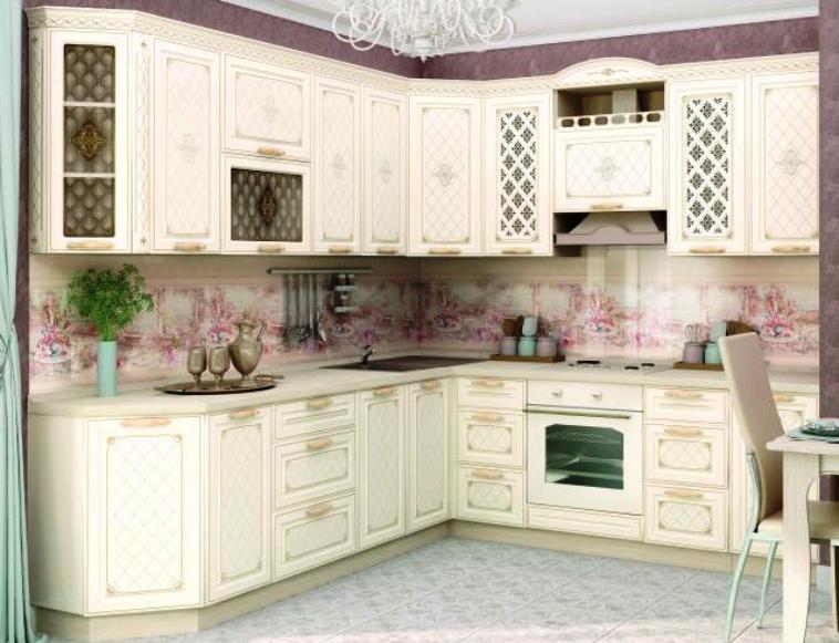 Кухня Милана угловая