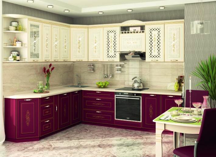 Кухня Виктория угловая