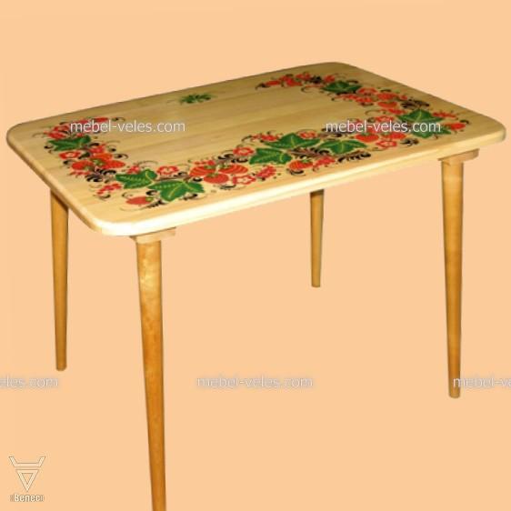 Детская мебель Хохлома из массива