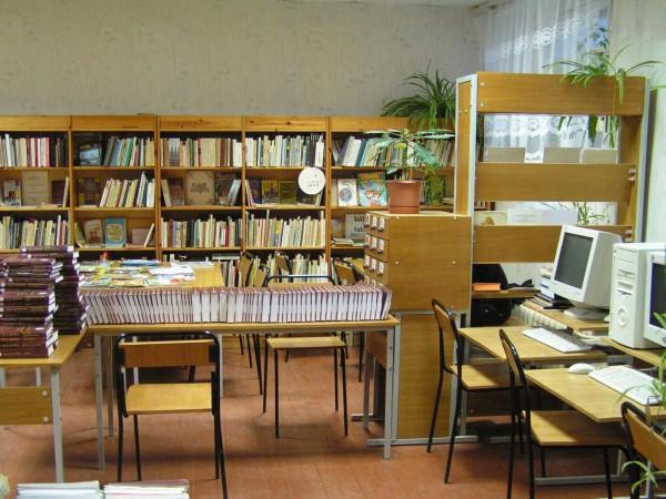 библиотека - стеллажи